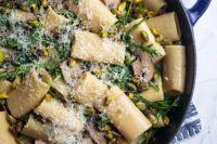 Paccheri Pasta with Marsala Mushrooms