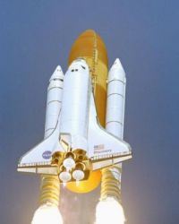 Space Shuttle Lift-Off