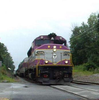 MBTA GP40MC
