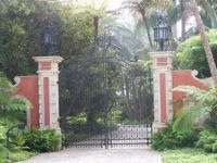 Entrance - Ty Warner's $350 Million Dollar Home, Santa Barbara