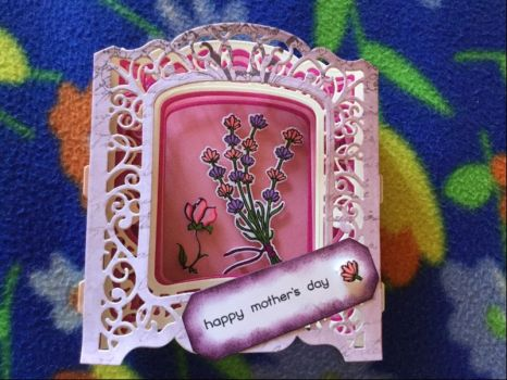 My Mom's 3D card