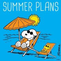 What are your summer plans Charlie Brown?