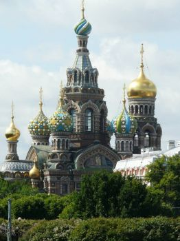 St. Petersburg Church on the Spilled Blood