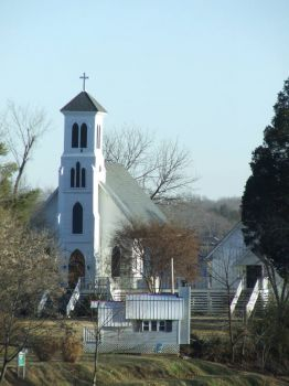 Old 1800's Church Rapidan, Va.