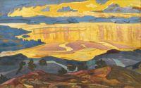 Nicholas Roerich, Before the Rain-1923