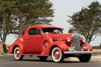 1936 Buick Special series 40 rumble seat coupe
