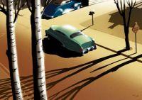 cool car scene