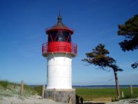 Gellen Lighthouse, Hiddensee, Germany