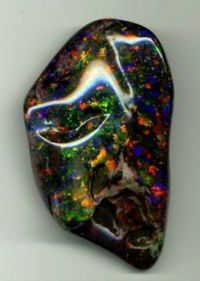 Andamooka matrix opal