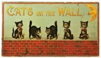THEME ~ Toys & Game ~ ''Cats on the Wall''