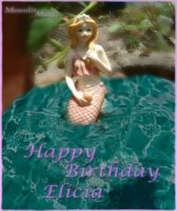 Mermaid Birthday e card (Medium)