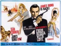 FROM RUSSIA WITH LOVE - 1963 POSTER  SEAN CONNERY  007
