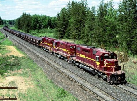Iron Ore Train, Minnesota