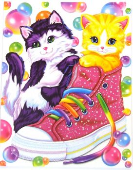 kittens in shoe lisa frank