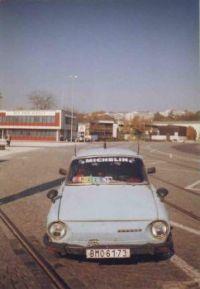 Škoda 100, Modrej brouček, Autotec Brno, BVV.