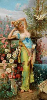 Hans Zatzka  - The Messenger of Love