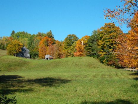 Eagle Hollow Road Near My Home, Vershire, VT 092714