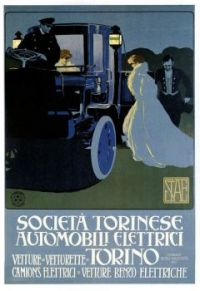1905 Turin Society of Electric Automobiles
