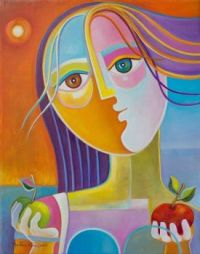 Vera: Eve and Her Two Apples