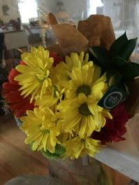 My Birthday Flowers!