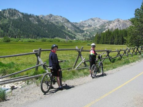 Bicycling in Squaw Valley