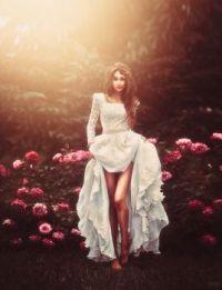 Beautiful Bride in Flowers