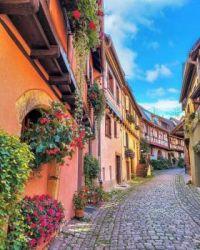 Egisheim, Frankreich, Elsaß