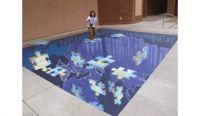 3D street art San Diego
