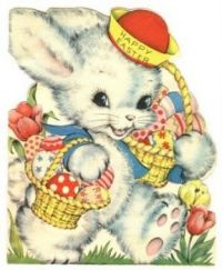 Happy Easter - Vintage 2