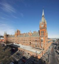St. Pancras Statoion, London  4248