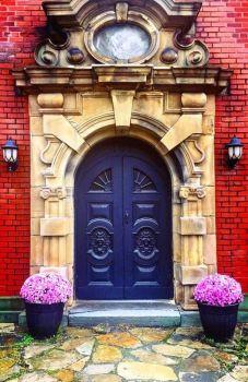 Doorway, Montreal, Quebec, Canada