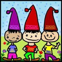 Sam, Luke and Tom ~ three brothers