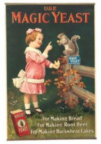 Themes Vintage ads - Magic Yeast