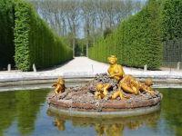 fontána  ve Versailles