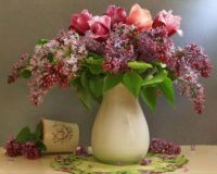 My Cup Runneth Over With Lilacs...