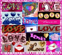 Love Letters Collage Challenge