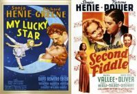 Sonja Henie ~ My Lucky Star ~ 1938 and Second Fiddle ~ 1939