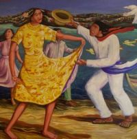 1933 Fiesta sul lago del Nicaragua