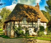 Thatched Cottage ~ Hampshire, England