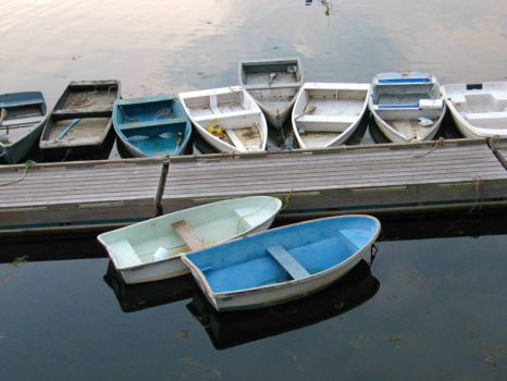 Perkins Cove Rowboats