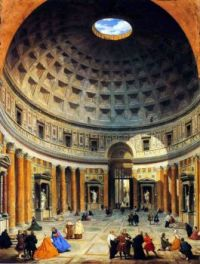 The Interior of the Pantheon