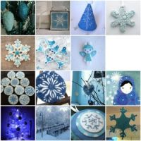 Wintery Blues Palette by crafty_dame on flickr