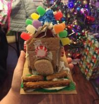 Savannah's Gingerbread House