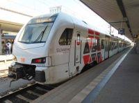 Süwex Regional Train at Mannheim Station