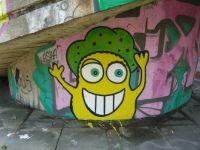 Happy graffiti