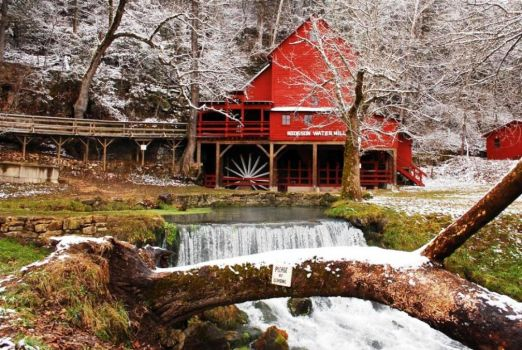 Hodgson Water Mill, Missouri