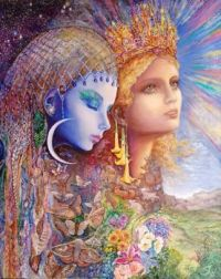 NIGHT AND DAY - Josephine Wall, artist