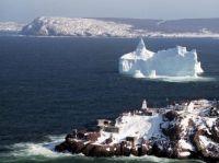 Lighthouse & Iceberg,St.Johns,NL