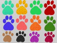 colorful paws ;-)