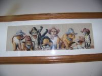Dimensions Cowboy Cats Cross Stitch